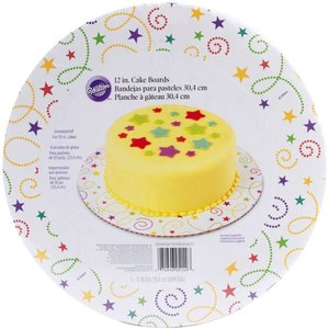 """Wilton Products . WIL 12"""" ROUND PARTY SWIRL 3PKG"""