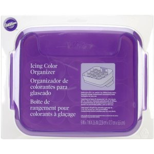 Wilton Products . WIL ICING COLOR ORGANIZR 9X7X2.5