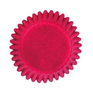 Wilton Products . WIL RED FOIL BON BON CUPS 75 CT.