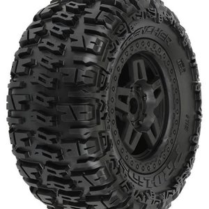 """Pro Line Racing . PRO TRENCHER 3.8"""""""" TIRES MNTD"""