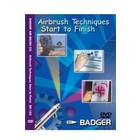 Badger Air.Brush Co . BAD DVD AIRBRUSH TECHS START TO FN