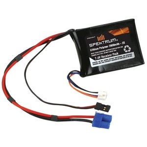 Spectrum . SPM LIPO RECEIVER PACK 2000MAH