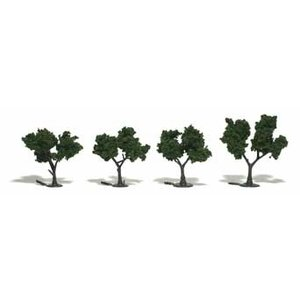 Woodland Scenics . WOO MEDIUM GREEN TREES