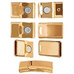 John Bead Corporation . JBC MAGN CLASP-CRVD GOLD LF/NF