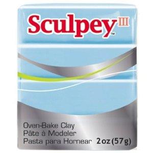 Sculpey/Polyform . SCU SKY BLUE SCULPY III