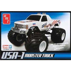AMT\ERTL\Racing Champions.AMT 1/25 USA-1 4X4 MONSTER TRUCK