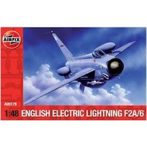 Airfix . ARX 1/48 EE LIGHTNING F-2A/F-6