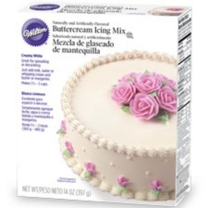 Wilton Products . WIL BUTTERCREAM ICING MIX