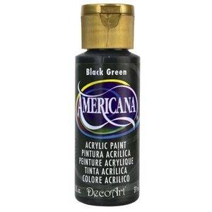 Decoart . DEC BLACK GREEN ACRYLIC 2 OZ
