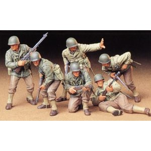 Tamiya America Inc. . TAM 1/35 US ARMY ASSAULT SET