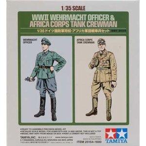 Tamiya America Inc. . TAM 1/32 WWII WEH OFFICER W/TK CRW