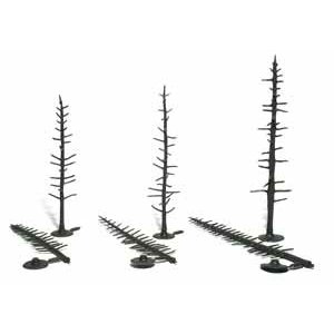 Woodland Scenics . WOO PINE TREE ARMITURES 4-6
