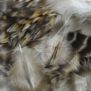 Midwest Design . MWD CHINCILLA HACKLE STRUNG FEATHERS