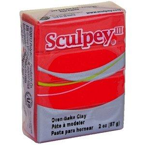 Sculpey/Polyform . SCU SCULPEY RED HOT RED