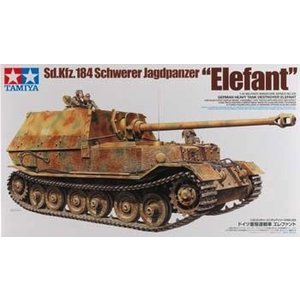 Tamiya America Inc. . TAM 1/35 GER TNK DESTROYER ELEFANT