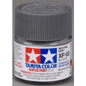Tamiya America Inc. . TAM XF-53 NEUTRAL GREY ACRYLIC MIN
