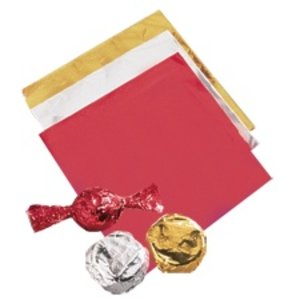 Wilton Products . WIL WRAPPERS FOIL 50PK SILVER