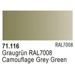 Vallejo Paints . VLJ CAM. GREY GREEN RAL7008