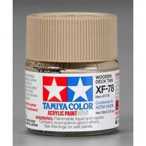 Tamiya America Inc. . TAM XF-78 DECK TAN ACRYLIC MINI