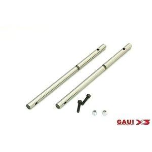 Gaui . GAI GAUI X3 Main Shaft 125mm 2pcs