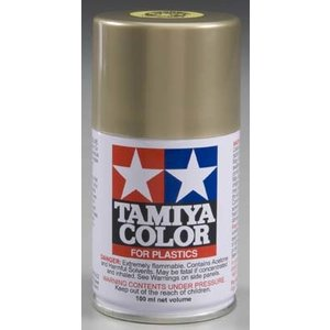 Tamiya America Inc. . TAM TS-84 METALLIC GOLD