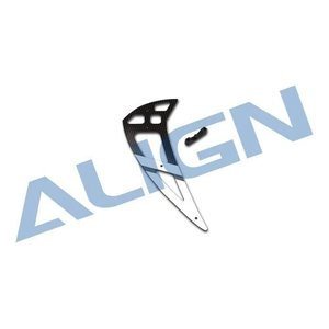 Align RC . AGN CARBON VERTICAL STAB WHT