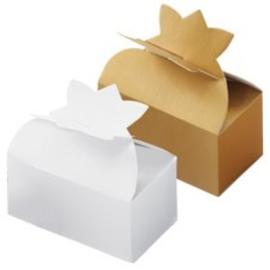 Wilton Products . WIL GOLD TRUFFLE BOXES PK/4