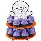 Wilton Products . WIL CUPCAKE/TREAT STAND MUMMY