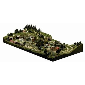 Woodland Scenics . WOO HO GRAND VALLEY LAYOUT KIT