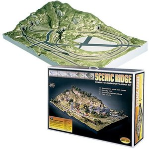 Woodland Scenics . WOO N SCENIC RIDGE LAYOUT