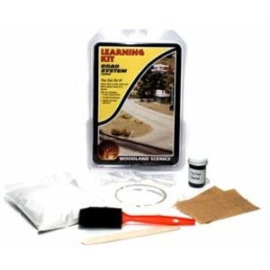 Woodland Scenics . WOO ROADS & PAVEMENT LEARNING KIT