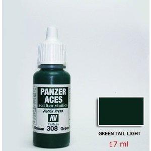 Vallejo Paints . VLJ GREEN TAIL LIGHT