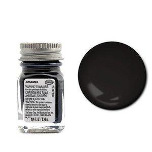 Testors Corp. . TES ENAMEL 1/4OZ SEMI GLOSS BLACK