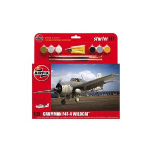 Airfix . ARX 1/72 GRUMMAN F4F-4 START SET