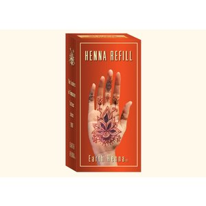 Earth Henna . ETH EARTH HENNA BOXED REFILL KITS