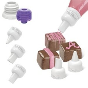 Wilton Products . WIL 5 PC CANDY MELT TIP SET