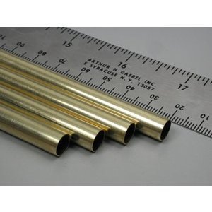 K&S Engineering . K+S ROUND BRASS TUBE 5/16