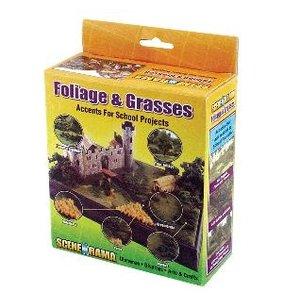 Woodland Scenics . WOO SAR FOLIAGE & GRASSES KIT