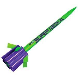 Estes Rockets . EST Super Neon XL Rocket Kit
