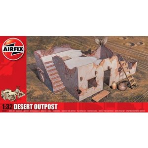 Airfix . ARX 1/32 DESERT OUTPOST RE-ISSUE