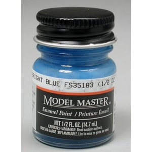 Testors Corp. . TES MM ENAMEL 1/2OZ BRIGHT BLUE
