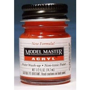 Testors Corp. . TES MM ACRYL GLOSS CHEVY ENGIN RED