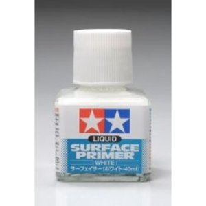Tamiya America Inc. . TAM LIQUID SURFACE PRIMER WHITE
