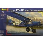 Revell of Germany . RVL 1/32 PIPER PA-18 W/WHEELS