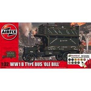 Airfix . ARX 1/32 WWI OLD BILL BUS