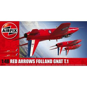 Airfix . ARX 1/48 RED ARROWS GNAT