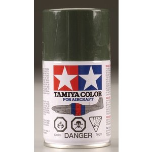 Tamiya America Inc. . TAM AS-24 DARK GREEN GERM A/F