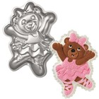 Wilton Products . WIL BALLERINA BEAR CAKE PAN