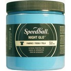 Speedball . SPD GLOW IN THE DARK BLUE FABRIC PAINT