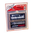 Excel Hobby Blade Corp. . EXL Hobby Knife Set-Carded